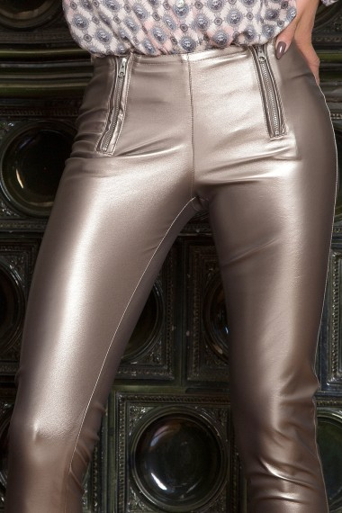 LEATHERETTE SKINY PANTS