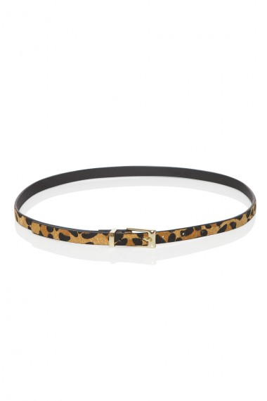 LEOPARD-PRINT HAIR BELT