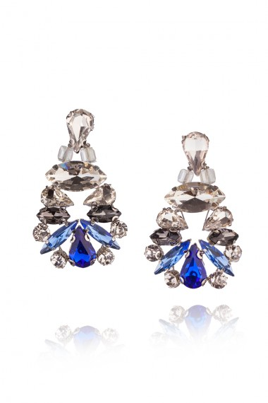 DESIGNER  CRYSTAL EARRINGS