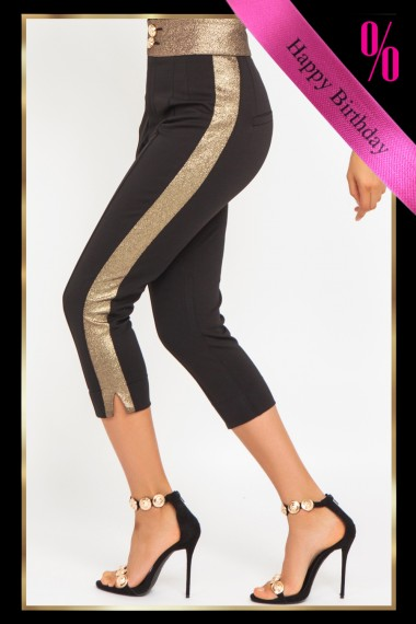 CROPPED HIGH-RISE SKINNY PANTS